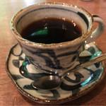 珈琲 森の時計 - ブレンドコーヒー 600円。