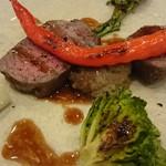 レストラン マリヴォー - 黒毛和牛のロティール「ヒウチ」♪