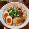 辛口炙り肉ソバ ひるドラ - 料理写真:辛口炙り肉ソバ『醤油』 味玉トッピング