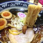 Fukutoku - ラーメン+煮たまご