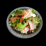 らぁ麺・酒菜 義澤 - サラダ麺