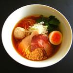 らぁ麺・酒菜 義澤 - 煮干し醤油らぁめん