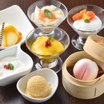 謝謝 - 【土日祝ランチ】別腹メニュー食後のデザート