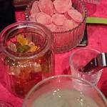 あでぃくしょん - 料理写真:「グミベア」や、甘酸っぱい「グミ」
