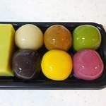 舟和 - 芋ようかん、あんこ玉