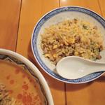 中国ラーメン揚州商人 - 炒飯セットの炒飯