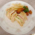 スカイレストラン - サンドイッチプレート