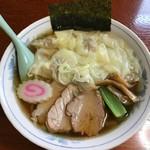海 - 料理写真:【ワンタンめん…800円】◎2017/5