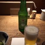 67973301 - ハイネケン(小)を飲みました。