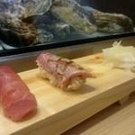 つきぢ神楽寿司 - 炙りとろ