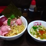 麺屋 導楽 - 煮干塩つけそば(2017.5)