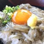田子の浦港 漁協食堂 - 赤富士丼(750円)