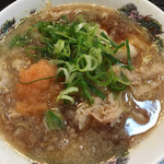肉太郎 - 肉醤油ラーメン☆★★☆(´∀`) 安いしスープ熱い