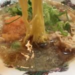 肉太郎 - ☆★恒例☆麺AGE♫★☆ 肉醤油ラーメン