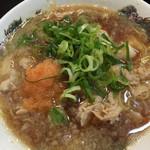 肉太郎 - 肉醤油ラーメン☆★(^ν^)