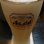 肉太郎 - キンキン冷えたグラスはナイス☆★★☆