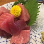 菊三八 - まぐろブツ800円