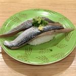 回転寿し トリトン - 秋刀魚です。