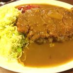 キッチン すみっこ - カツカレー大盛