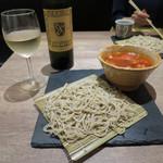 原宿 sora an - 海老トマト蕎麦