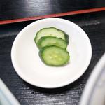 中華料理 海道 - 漬物