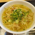 ユン家の食卓 - 豚カルビ塩ラーメン