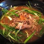 うどん小屋 柔製麺 - 料理写真:国産牛たっぷり100gカレー 970円