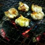67987558 - 背肉のしょうゆニンニク焼き