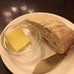 ベルジアン ブラッスリーコート ゲント - ランチセットのパン