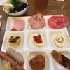 エーデルワイス - 料理写真:サラダとソーセージとハム、イースターエッグ、唐揚げ等