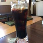 本格韓国料理焼肉 無双 - サービスドリンクはアイスコーヒー