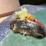 第三春美鮨 - 真鰺 87g 瀬付き 釣 兵庫県沼島