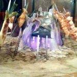 原始焼・二代目・魚々子 - 囲炉裏