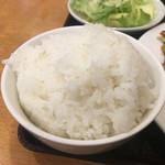 呉園 - ご飯山盛