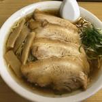 ラーメン 福助 - チャーシュー麺大盛り