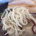 長崎楼 - 2017年6月初旬 少し芯の残る麺。