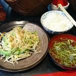 沖縄料理 琉球 - チャンプル定食(ゴーヤ)