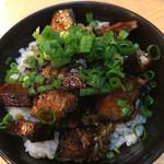 麺屋KAZU-G - チャーシュー丼