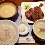 67995291 - 牛たん麦とろ膳(8枚盛り)2192円