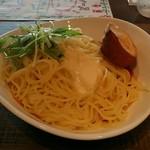 新宿マイバル - 【ランチ】ミートソース大盛:500円