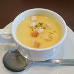 洋食工房ヒロ - スープ(セット)