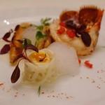 レストラン クレッセント - 9.オマール海老のエチュベとホワイトアスパラガス