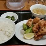 台湾ケンさん - 唐揚げ定食