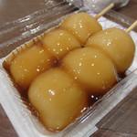 いなりふたば - みたらし200円。ほわんとした甘さ。懐かしい味わい。