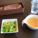 67998293 - サラダ、スープ