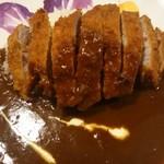 三洋 - 上品な欧風カレーにさっぱりとした揚げたてポークカツ