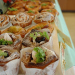 リューヌ - 料理写真:秋なので栗を使ったモンブランのようなパン