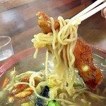中華料理 かえる - かえるラーメン アップ
