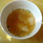 ラ・ファトリア - 料理写真:スープ