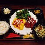 びたろー - ポーク玉子定食(900円)